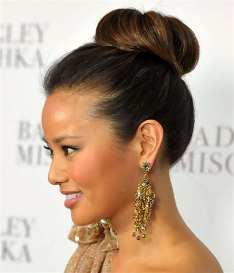 buns hairstyles medium length hair 17 best images about cocktail party hair on pinterest
