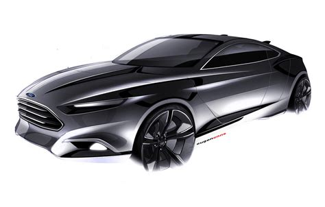 ford evos concept to introduce kinetic design 2 0 in frankfurt autoevolution