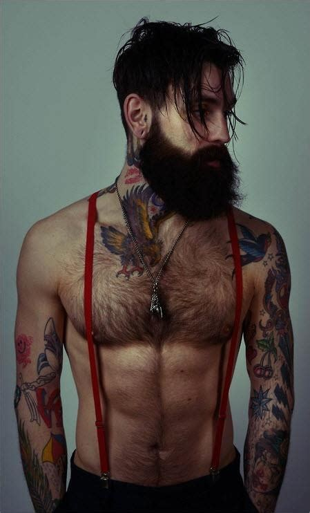 tattoo is hot beard check tattoos check sexy check i m in love