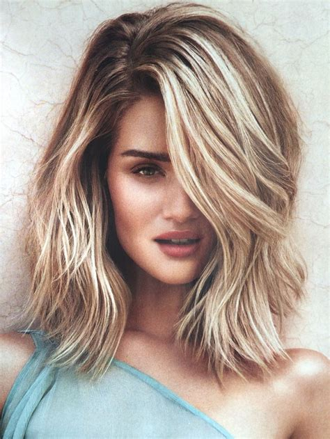 Hairstyle Lob by Best 25 Side Part Hair Ideas On Side Part