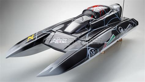 nitro powered rc boats exceed racing fiberglass spider 1300 gs260 gas powered