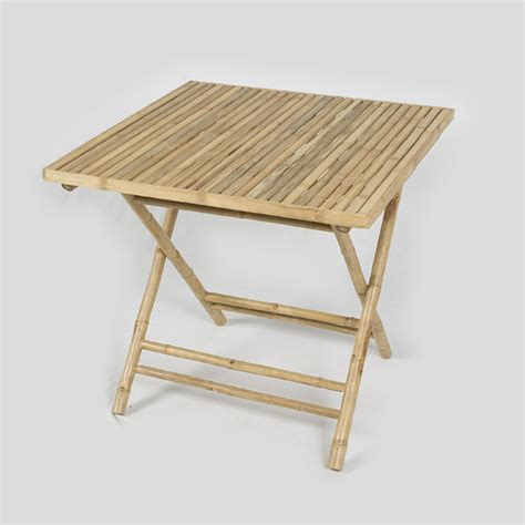 Folding Tables On Sale by Greenfingers Bamboo Folding Table Naturalcream On Sale