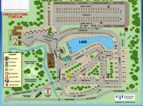 shady acres rv and cing park park map