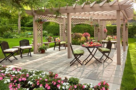 Cool Patio Designs Cool Backyard Patios Decosee