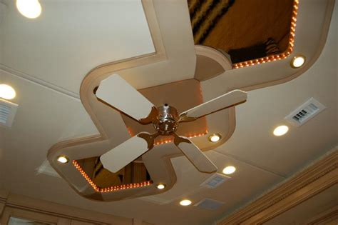 rv ceiling fans custom ceiling rv renovations by classic coach works