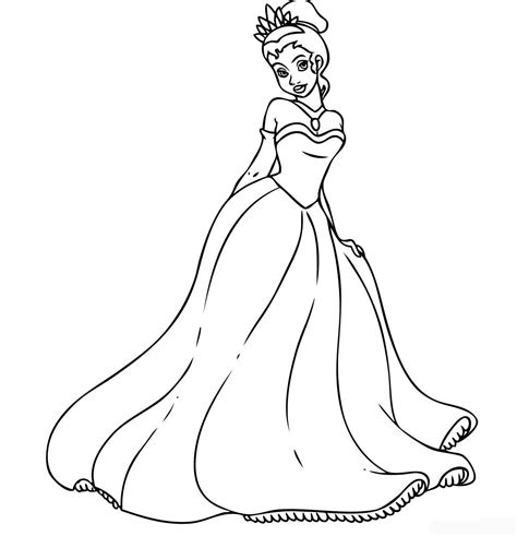 Princess Coloring Frozen Free Only Coloring Pages Coloring Princess Frozen