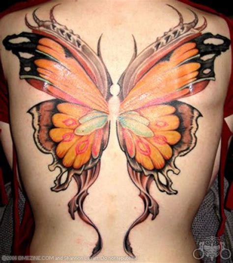tattoos on buttocks butterfly on bum design idea