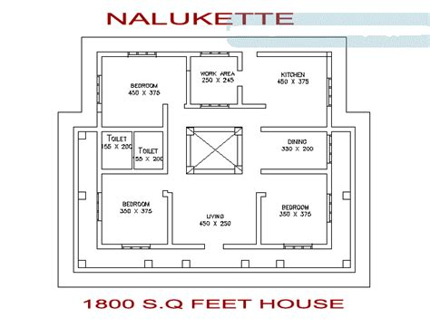 simple 3 bedroom house plans kerala 1800 square feet 3 bedroom nalukettu kerala home design
