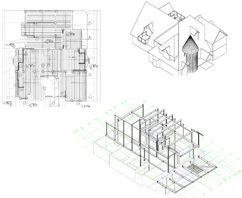 structural layout of a building structural design