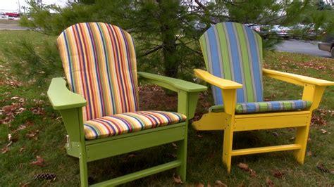 how to make patio chair cushions how to make an adirondack chair cushion