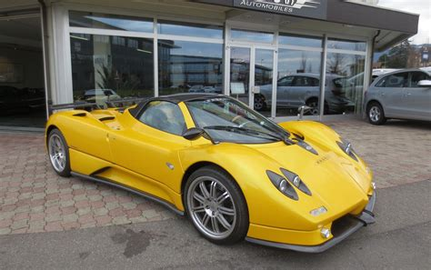 pagani zonda s roadster 7 3 for sale at 2 2 million in