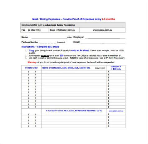 Free 10 Restaurant Invoice Samples Amp Templates In Pdf