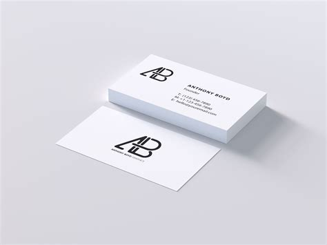business cards display template modern business card mockup psd see outlook