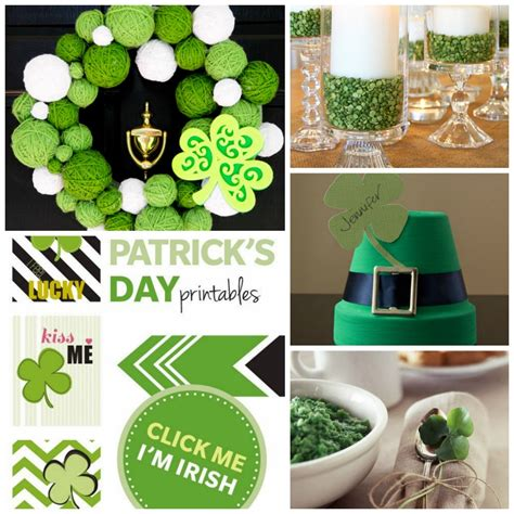 Shamrock Decorations Home Beautiful St Patricks Day Decorating Ideas Photos Interior Design Ideas Renovetec Us