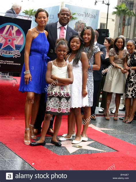 Forest Whitaker Family Photos forest whitaker family forest whitaker receives a