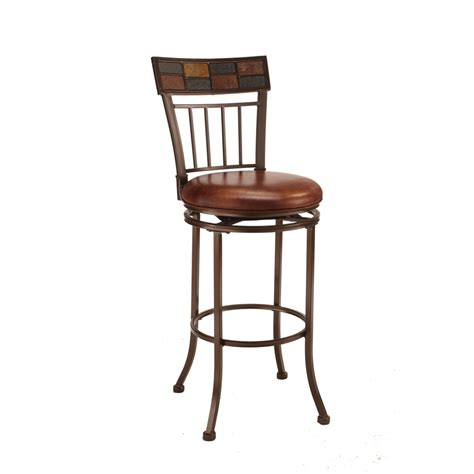 Hillsdale Whitman Swivel Counter Stool by Shop Hillsdale Furniture Montero Copper Slate Top 24 In