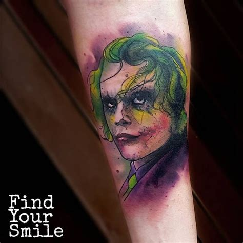 watercolor tattoo joker 904 best watercolor tattoos images on