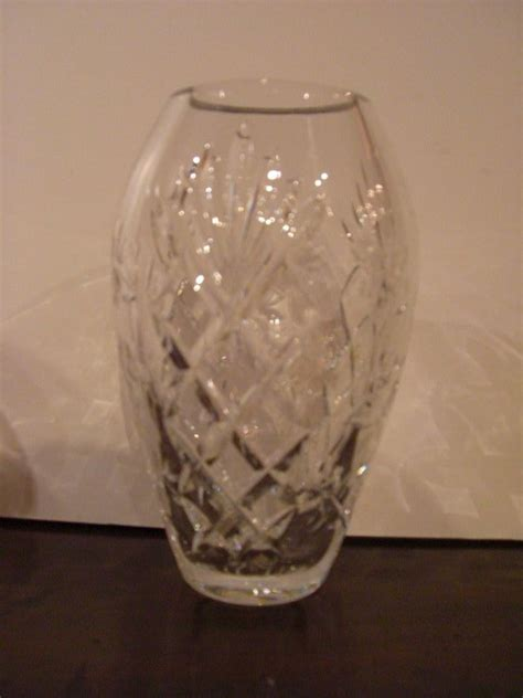 waterford vase waterford cut glass vase height 7 5 quot for sale