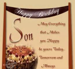 Loving birthday wishes for birthday wishes for son