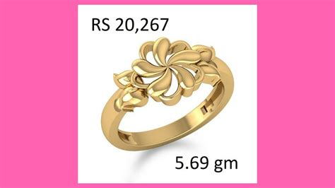 gold ring designs for women with price gold finger ring designs for girls with price youtube