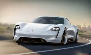 Porsche Concept Cars Porsche Mission E Concept Gear Hungry