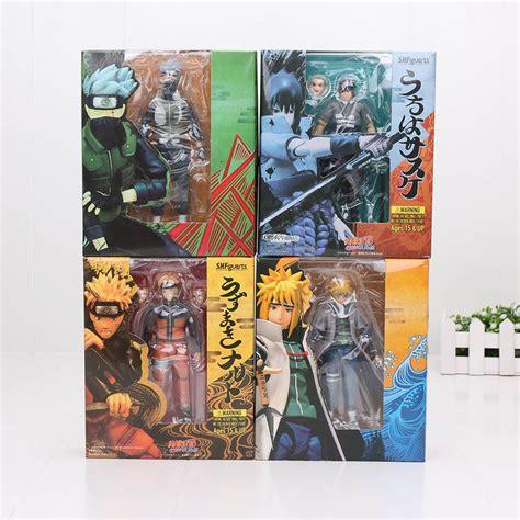 Japan Anime Shippuuden Uzumaki Uchiha Sasuke Acti japanese amine shf uzumaki uchiha sasuke namikaze minato hatake kakashi 15cm pvc
