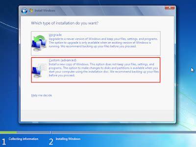 tutorial install ulang windows 7 ultimate dengan flashdisk cara install dan install ulang windows 7 dengan flashdisk
