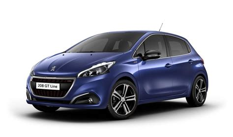 blue peugeot peugeot 208 restyl 233 e 2018 couleurs colors