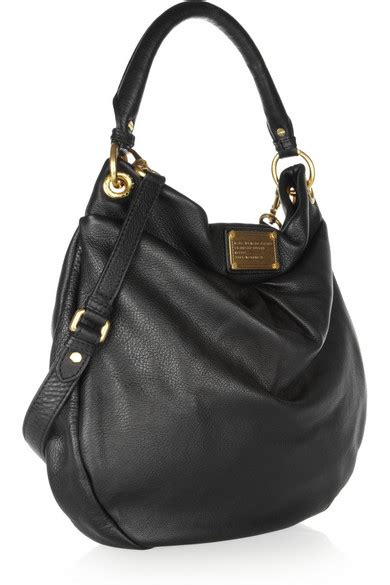 Marc Leather Hobo by Marc By Marc The Classic Q Hillier Hobo Textured