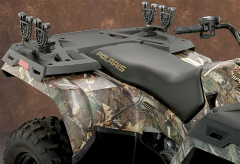 Polaris Atv Gun Rack polaris atv flexgrip gun and bow rack moose 3518 0063 pffg2 ebay