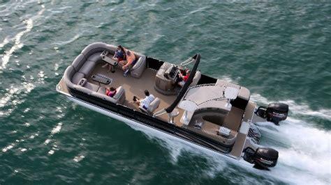luxury inboard pontoon boats premier 290 grand entertainer a wide beam pontoon boat