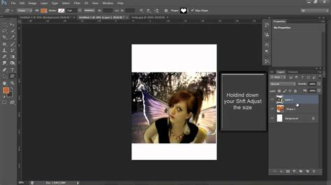 how to insert pattern in photoshop cs6 how to insert an image into a custom shaped heart using