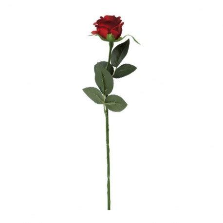 fiore rosa rossa 1 fiore artificiale rosa rossa finta decorazione festa