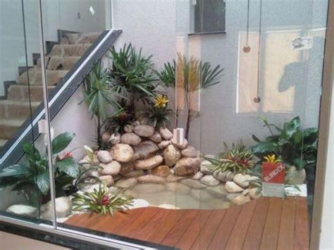 decoração de jardim de inverno interno pequeno lago artificial 49 fotos de projetos e passo a passo