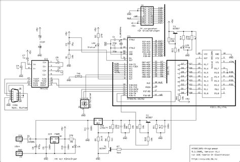 schematic of a microcontroller schematic get free image