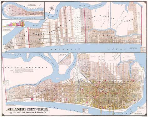 map of atlantic city nj city map atlantic city new jersey landowner