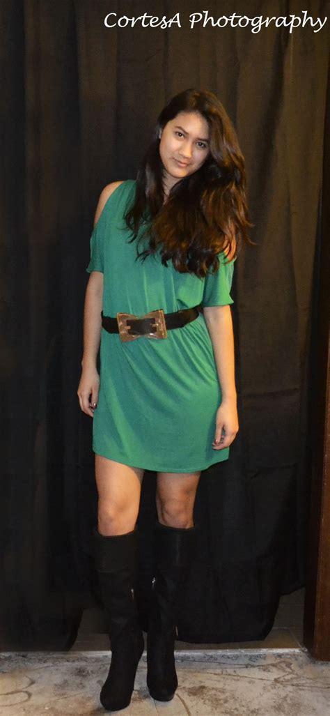 green dress gold belt size small on luulla