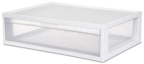 4 sterilite 23708004 large modular stacking storage drawer
