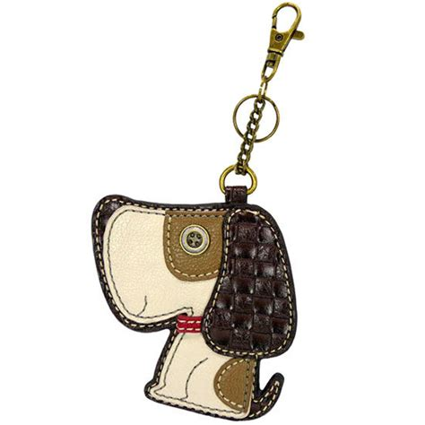 Chala Coin Purse Key Fob chala puppy western inspired key chain coin purse