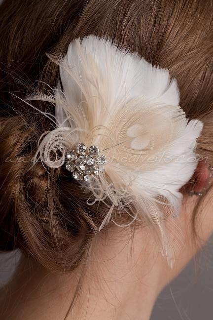 17677 Sweet Feather Top 30 best wedding hair fascinators images on