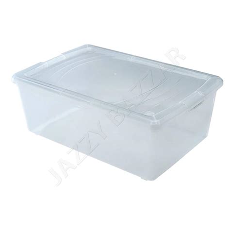 shoe box storage containers 8pack large clear plastic storage container boxes shoe
