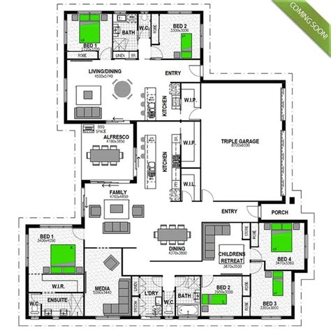 house with attached granny flat plans the highgrove 277 granny flat is a cleverly designed four bedroom family home with