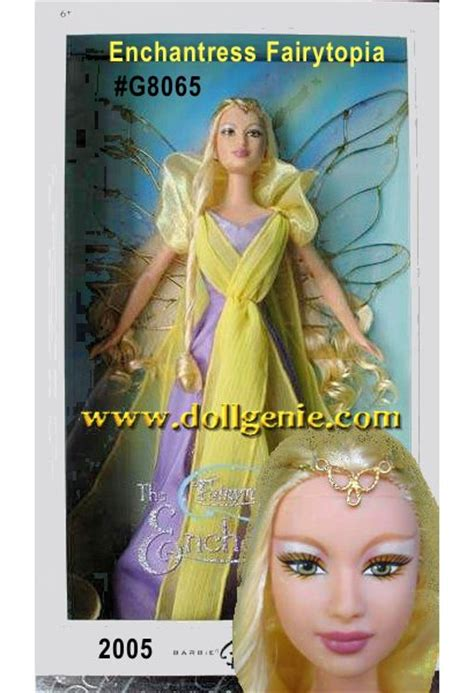 Fairytopia Enchantress Collector doll silkstone barbies ken high after high prettie