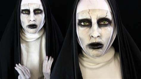 tutorial makeup valak valak the conjuring 2 halloween makeup tutorial youtube