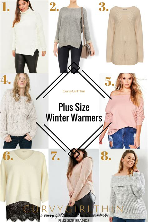 Of The Blogs Winter Warmers Style And The Best In All The Land by 8 Plus Size Winter Warmer Curvygirlthin