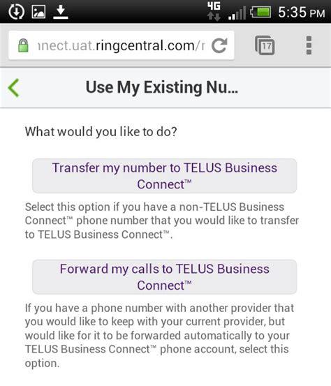 My Telus Phone Lookup Telus Business Connect Mobile App Guide Help Telus