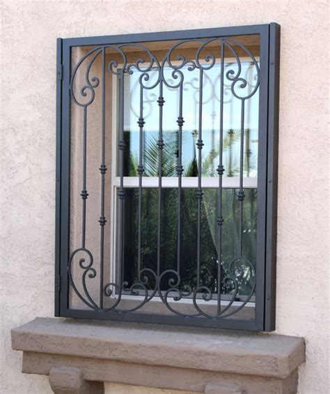 tuscan window guards by impression security doors