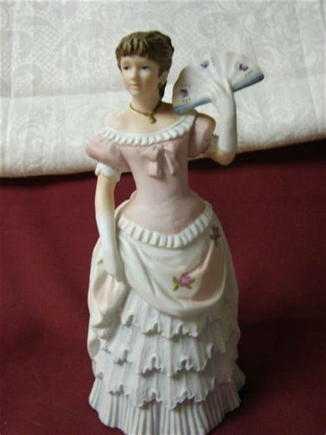 home interior porcelain figurines vintage homco home interiors victorian lady porcelain