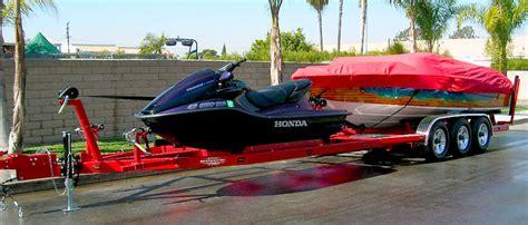 jet ski on boat trailer combination boat jet ski trailer shadow trailers