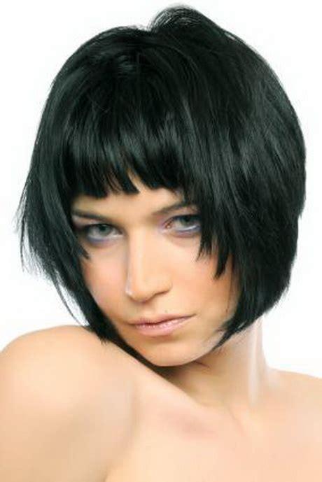 bang frame face short hairstyles with bangs
